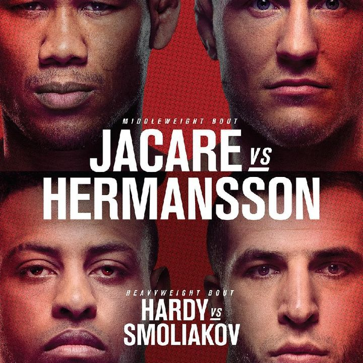Preview Of The UFCONESPN Card In Fort Lauderdale Headlined By Jacare Souza V Jack Hermansson!! Stacked Undercard Aswel 💯