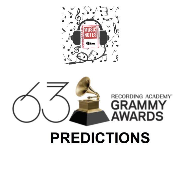 Episode 74 - Grammys 2021 Predictions