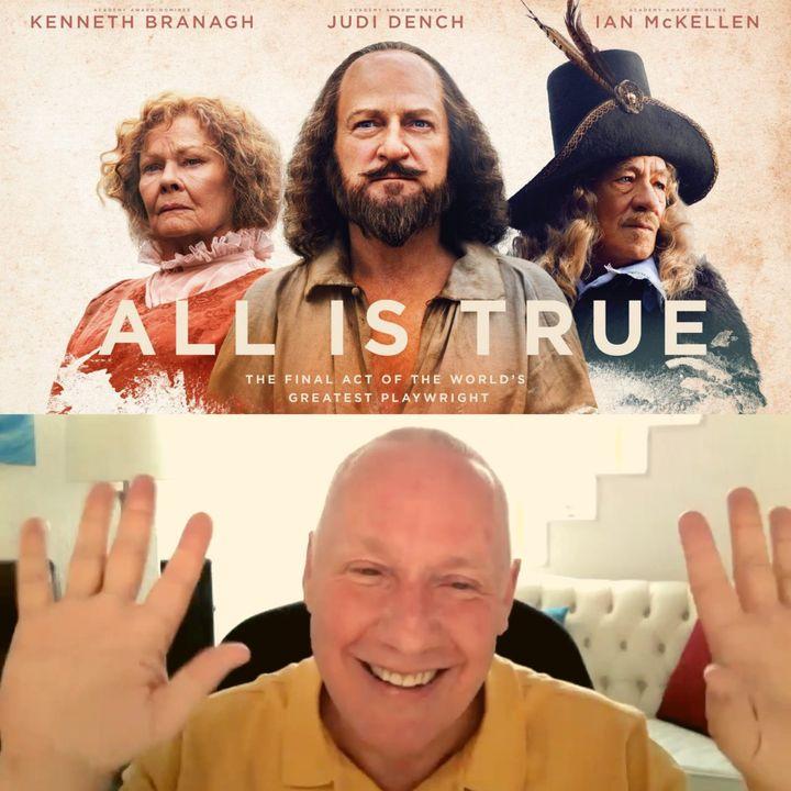 """Taller de película  """"El último acto""""  (All is true: Todo es verdad) con David Hoffmesiter - Traducidos por Marina Colombo"""