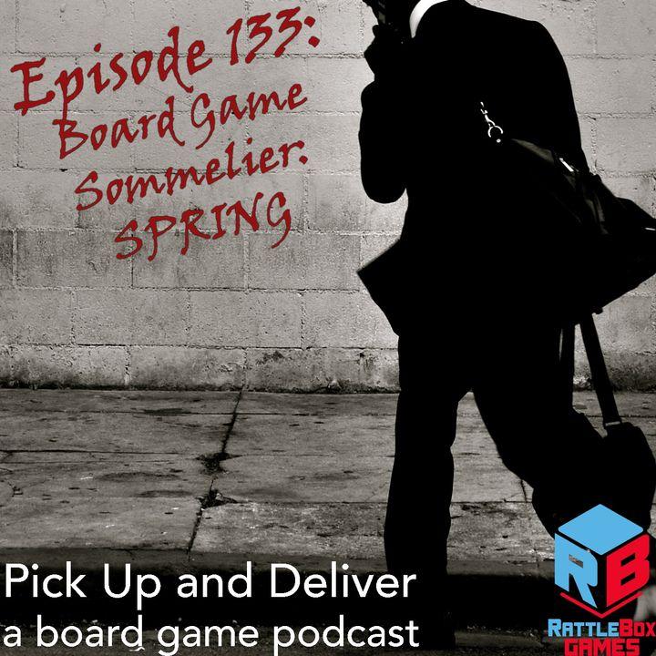 Board Game Sommelier - Spring