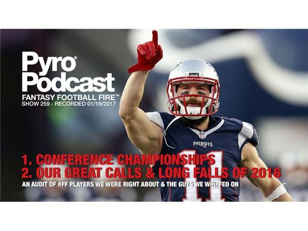 Fantasy Football Matchups - Conference Playoffs - Pyro Podcast Show 259