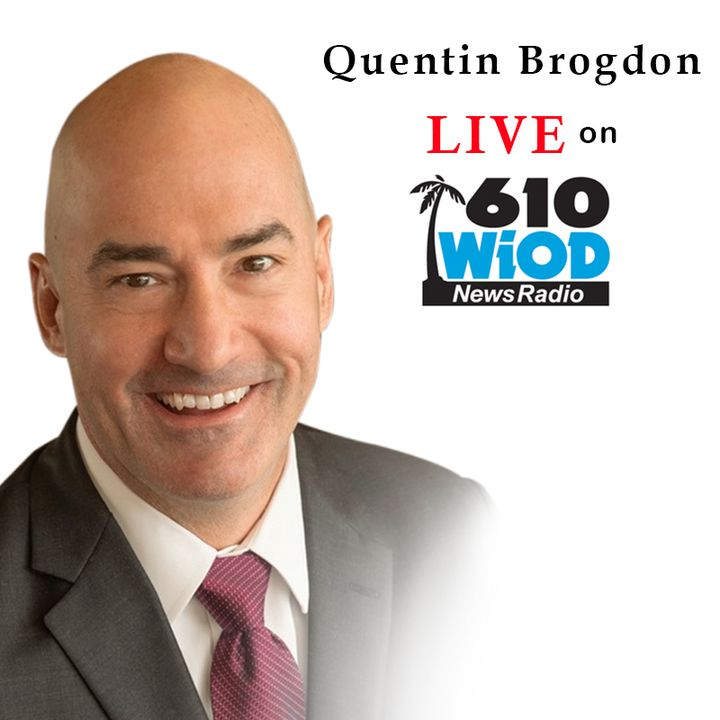 Quentin Brogdon - The legal aspects of the banning of Parler || 610 WIOD Miami || 1/12/21