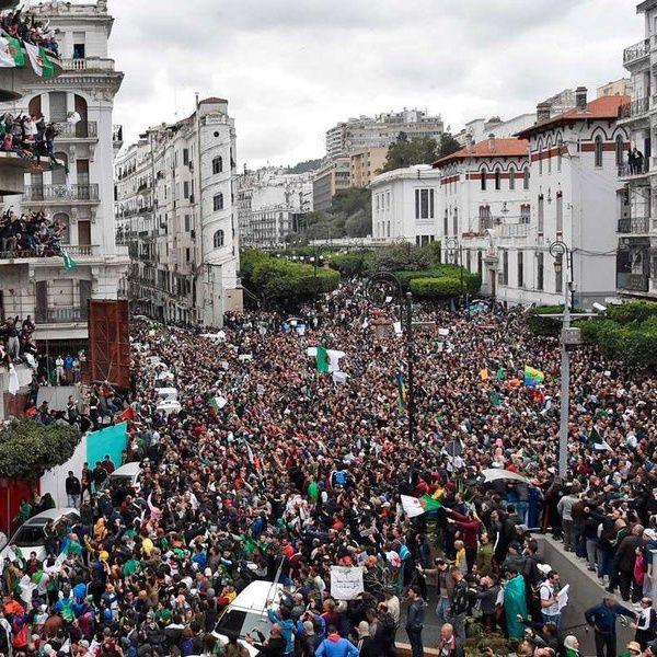 Proteste in Algeria e Global Warming