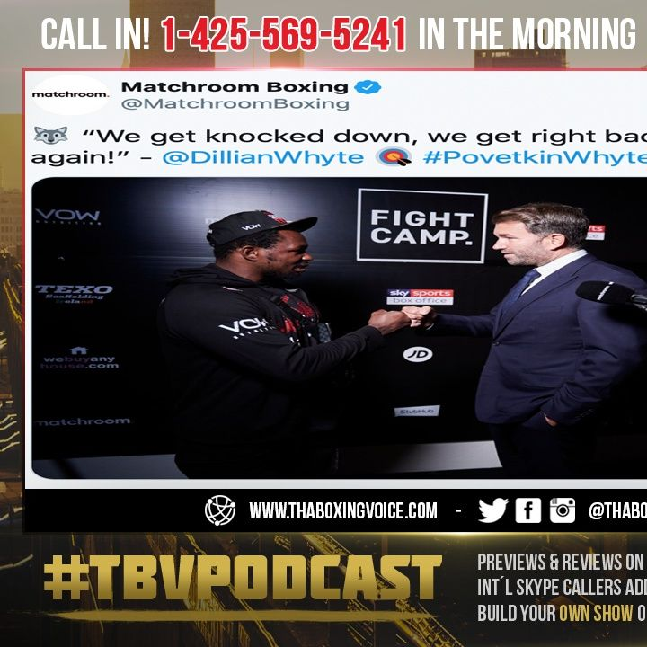 """☎️Povetkin vs Whyte Rematch Nov 21 🐺""""We Get Knocked Down😴We Get Right back Up and Go Again❗️"""""""