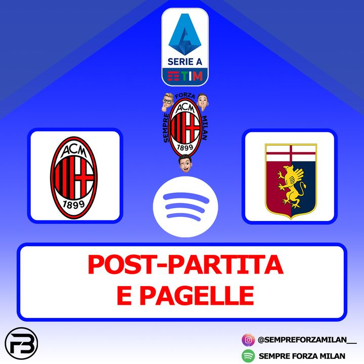 MILAN-GENOA 2-1 | PAGELLE e Post Partita
