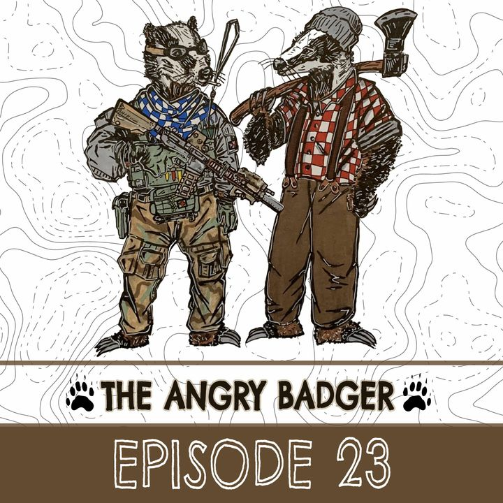 The Angry Badger - Episode 23: It's Another Q&A Episode