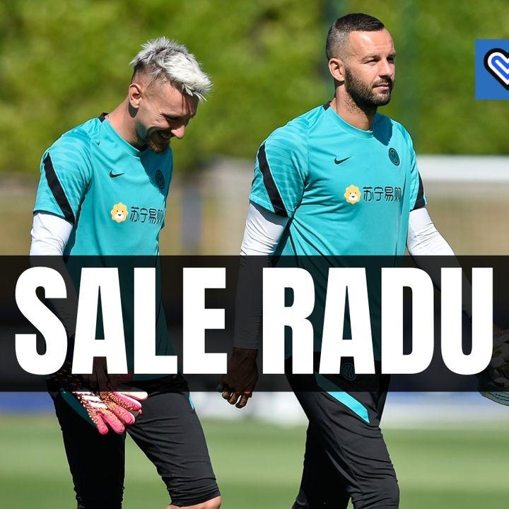Handanovic rischia il posto, scalpita Radu: il retroscena dallo staff tecnico