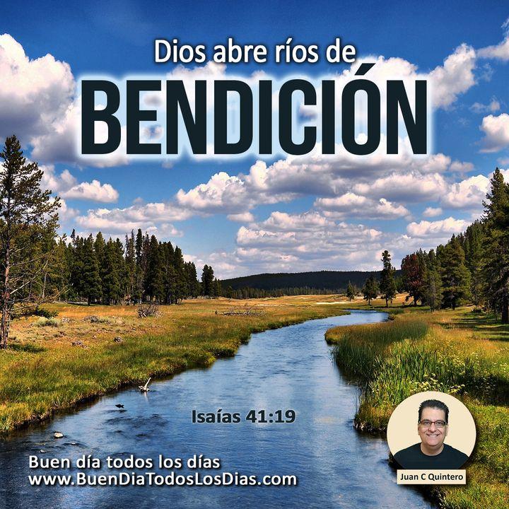El rio de la bendición de Dios