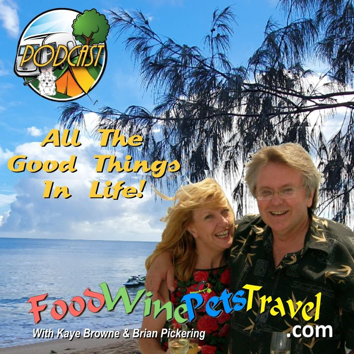 The Food-Wine-Pets-Travel+ Podcast