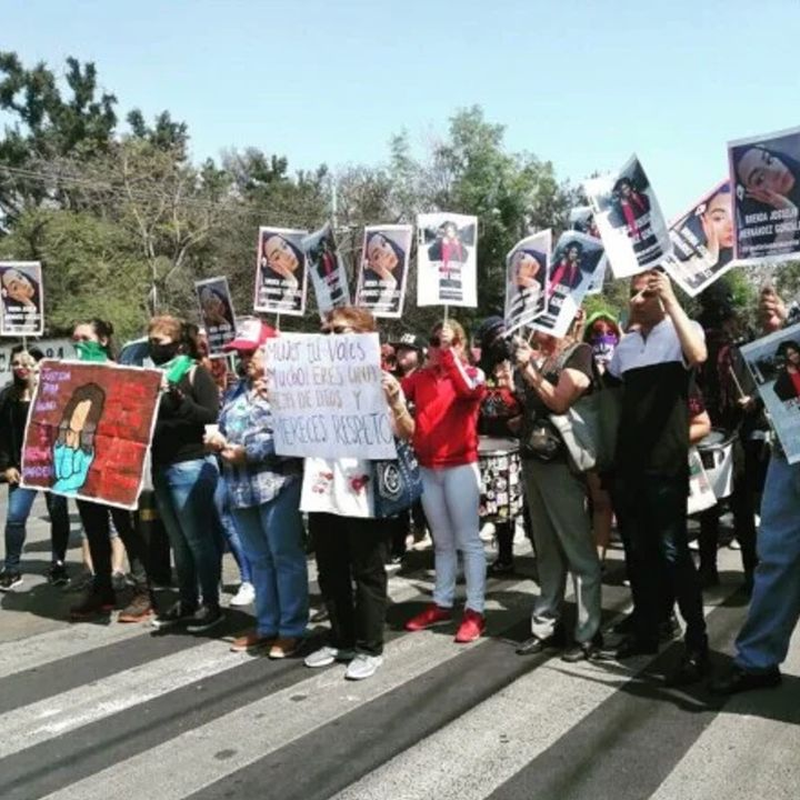 Realizan en GAM marcha para pedir justicia por Ingrid Escamilla