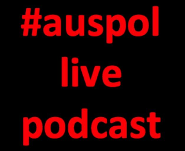 Ruth McGowan with #auspol live podcast