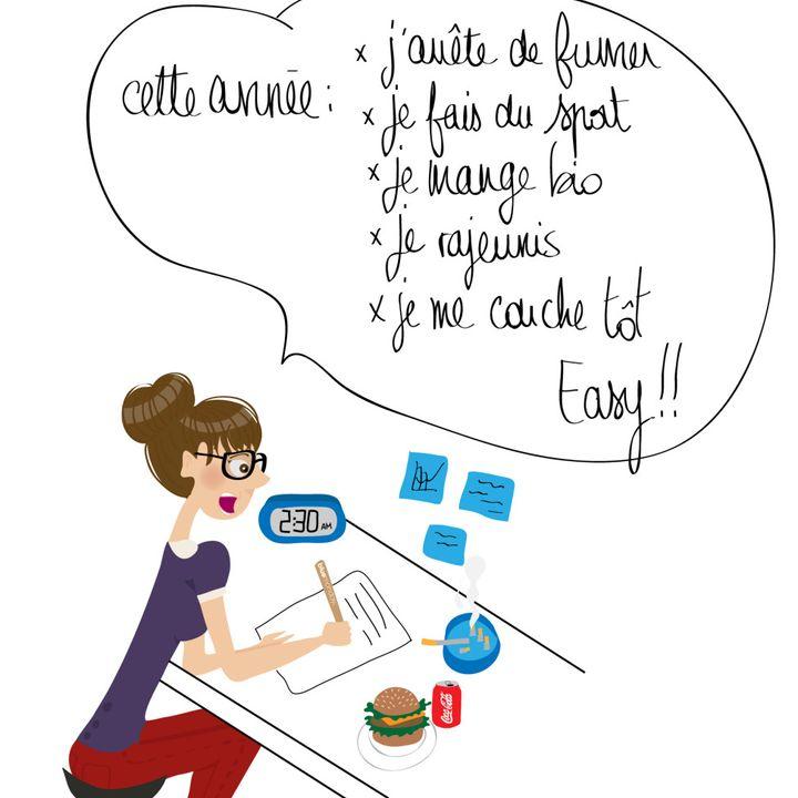 #castelguelfo Les bonnes résolutions: quel stress!
