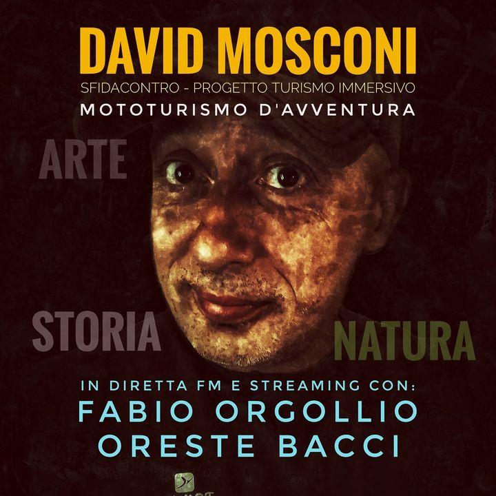 """10.08.2020 Recording Rubrica di David Mosconi """"Turismo Immersivo"""" su Radio Mugello 99.0"""