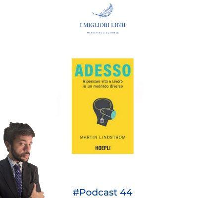 """Episodio 44 - """"Adesso"""" di M.Lindstrom I Migliori Libri -  Marketing & Business"""