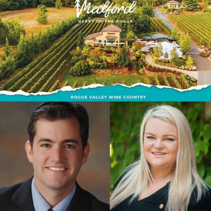 Travel Medford, Oregon - Eli Matthews & Ashley Cates on Big Blend Radio