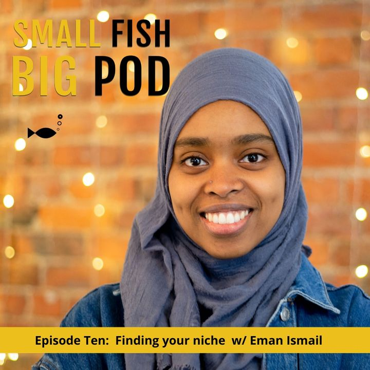 Ep10: Finding Your Niche with Eman Ismail