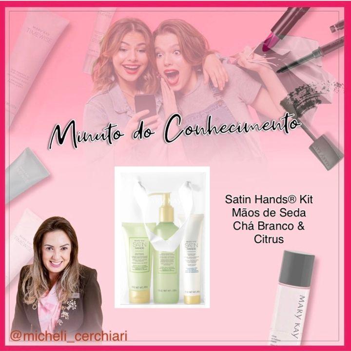 Satin Hands® Kit Mãos de Seda Chá Branco & Citrus
