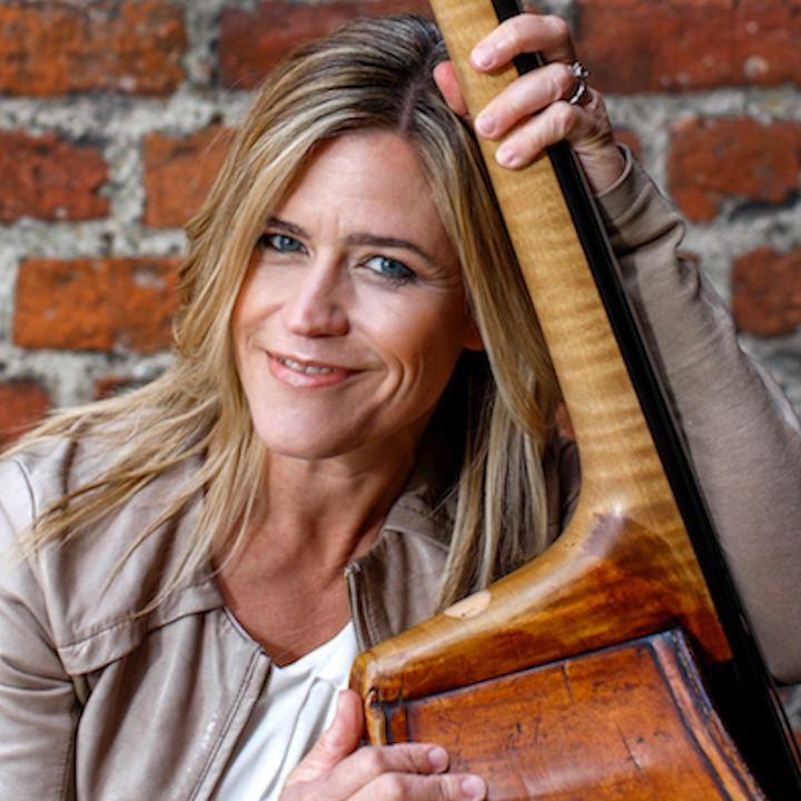 Bassisten og sangeren Kristin Korb