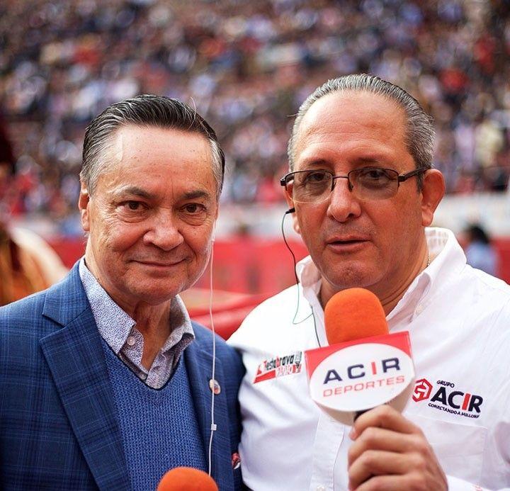 Desde la Plaza México platicando con Joselito Adame en Fiesta Brava Domingo 08 de Diciembre 2019