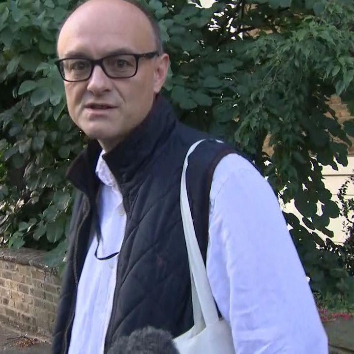 Who is the prime minister's most senior adviser, Dominic Cummings?