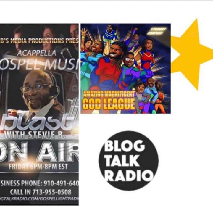 Stevie B. A Cappella Gospel Music Blast - (Episode 181)