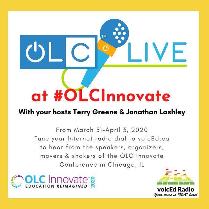 OLC LIVE at #OLCInnovate