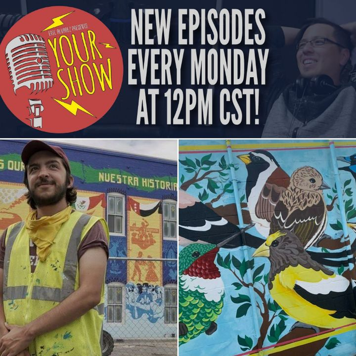 Your Show Episode 26 - Ricky Paints His Journey and History in Art