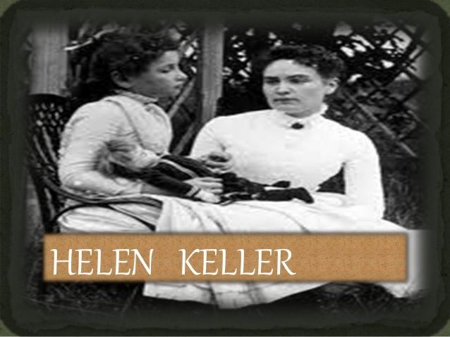 Here's your SIGN Helen Keller