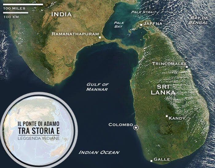 Il Ponte di Rama, un mistero tra India e Sri Lanka