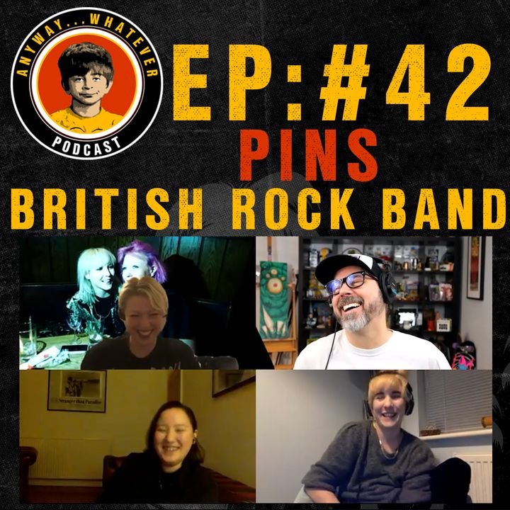 AWP EP:42 Great Interview With British Rock Band Pins