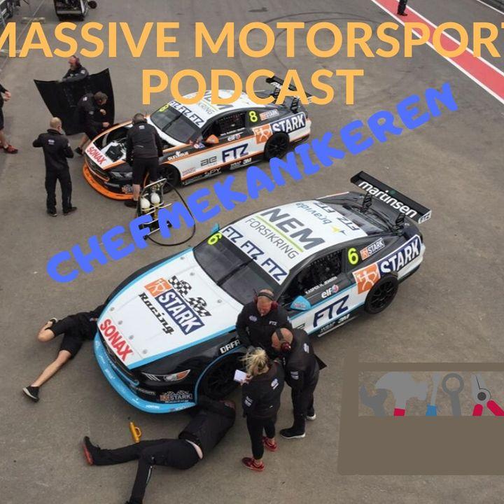 Massive Motorsport Podcast - Chefmekanikeren
