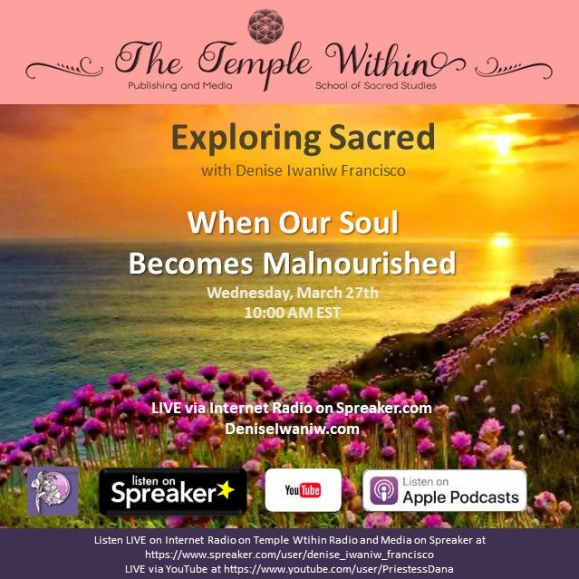 When Our Soul Becomes Malnourished