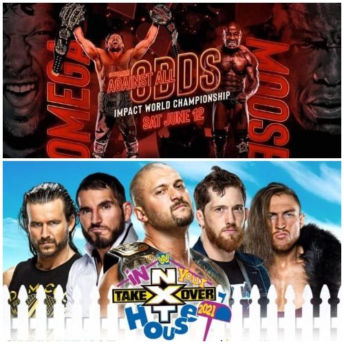 TV Party Tonight: Impact - Against All Odds (2021) and NXT TakeOver - In Your House (2021)