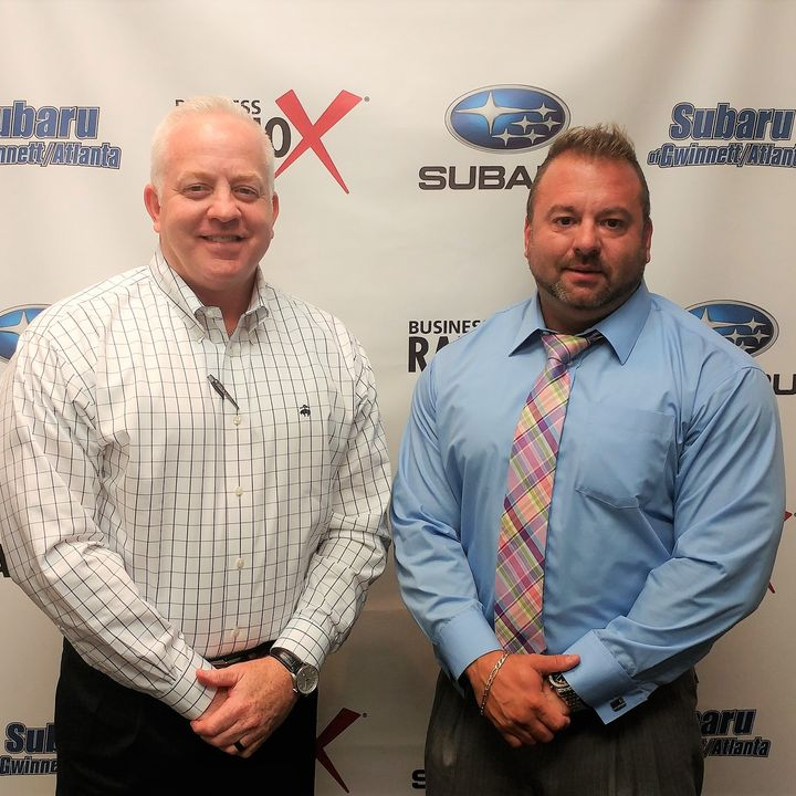 Keith Fleming with E2E Resources and Graham Hirst with SunTrust Bank