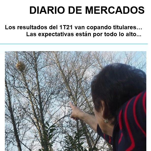 DIARIO DE MERCADOS Martes 20 Abril