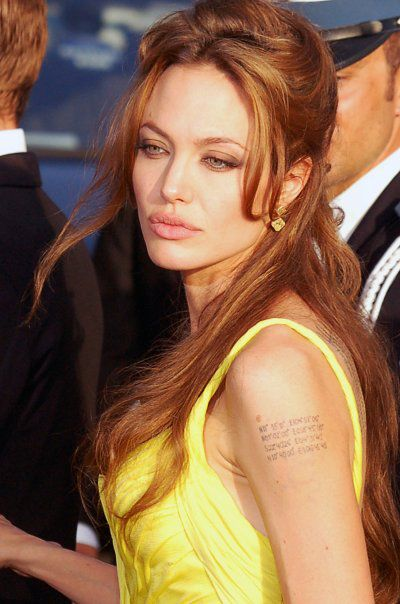 Angelina Jolie Stories