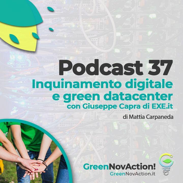 #37 - Inquinamento digitale e green datacenter