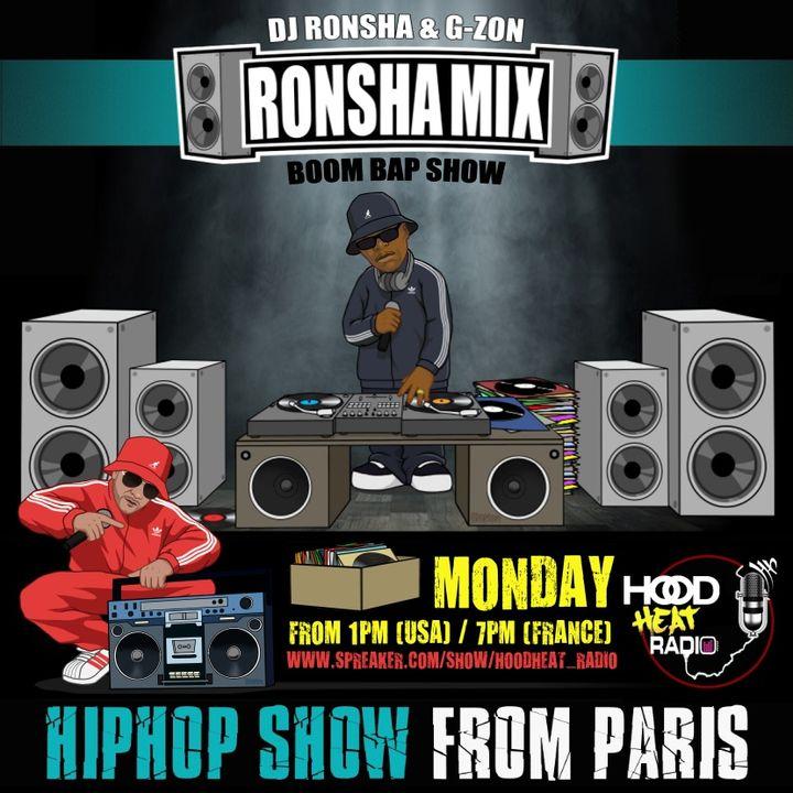 #RONSHAMIX #203 The Boom Bap Show w/ Dj Ronsha & G-zon