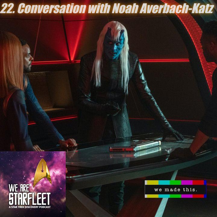 22. Conversation with Noah Averbach-Katz