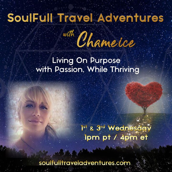 SoulFull Travel Adventures with Chameice Daniel: Living On Purpose with Passion, While Thriving