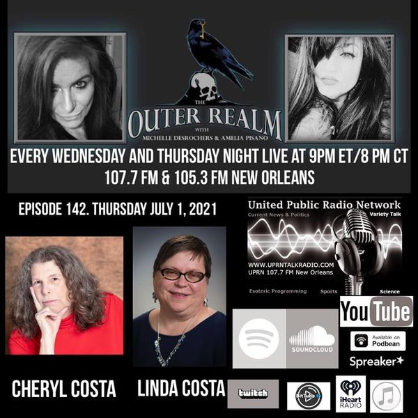 The Outer Realm With Michelle Desrochers and Amelia Pisano guests Cheryl Costa & Linda Costa