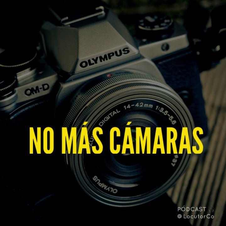 No más cámaras Olympus