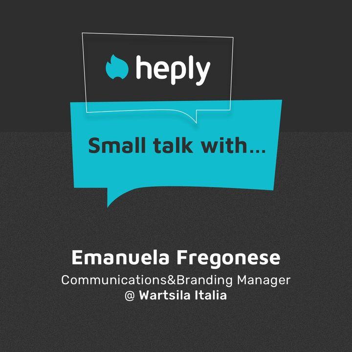 Emanuela Fregonese - Wärtsilä Italia - Communication&Branding Manager
