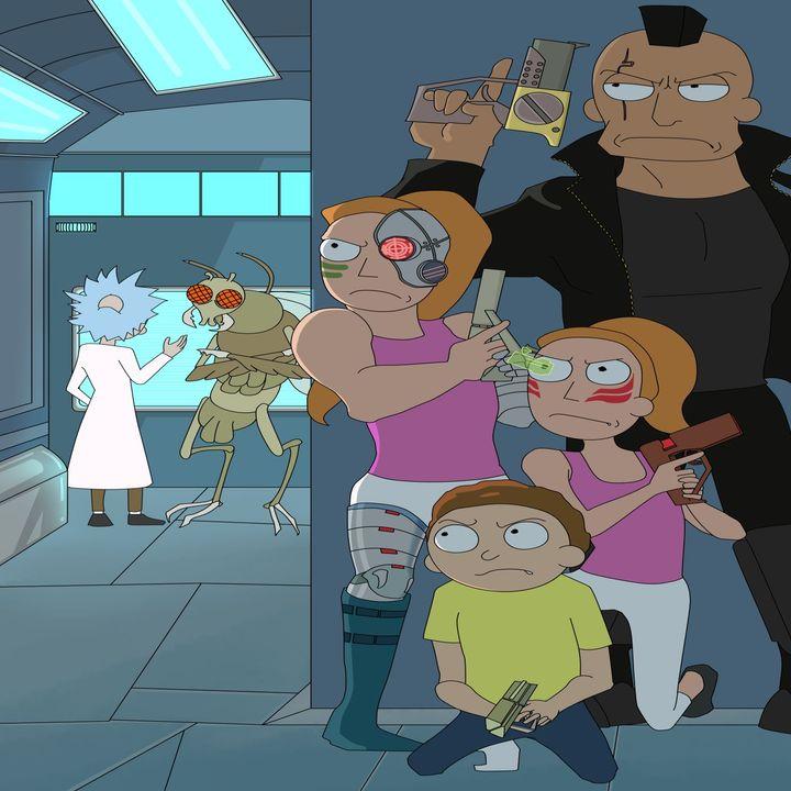 Rick and Morty C-138 Cyberpunk Saga Part 4 (Fan Made Audio Drama)