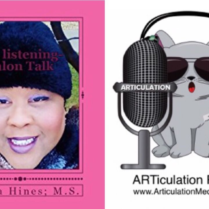 ARTiculation Radio — LESSONS FROM A LISTENING EAR (interview w/ Author Laticia Hines)