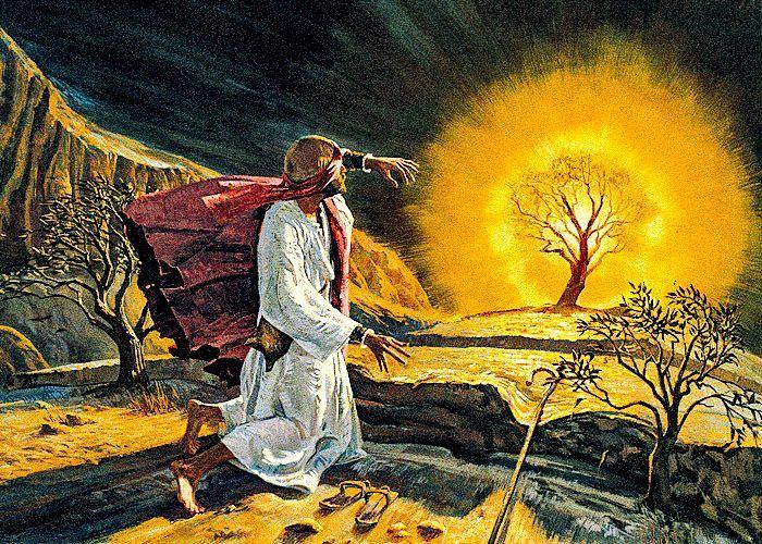 Mosè e la chiamata del Signore