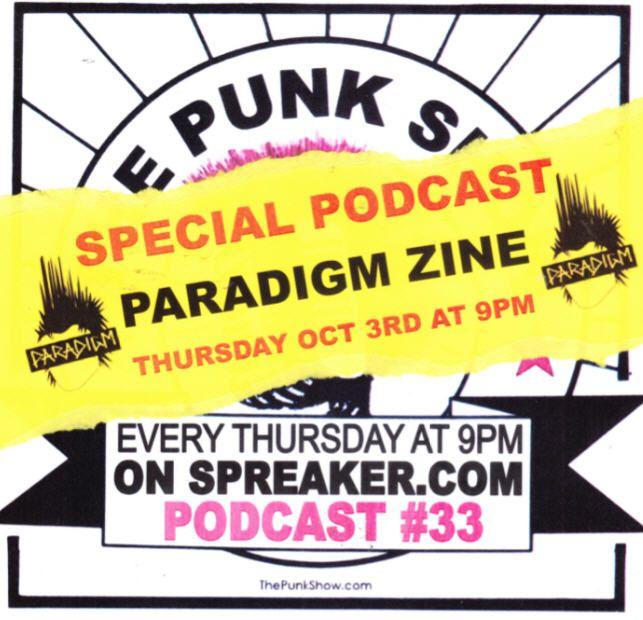 The Punk Show #33 - 10/03/2019