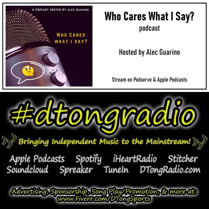 All Independent Music Weekend Showcase - Powered by Who Cares What I Say? w/ Alec Guarino