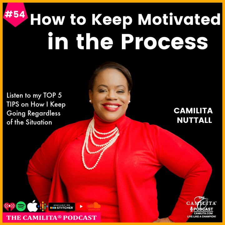 54: Camilita Nuttall   How to Keep Motivated in the Process