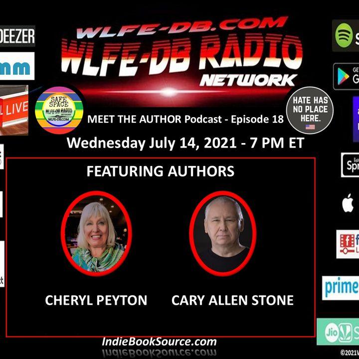 MEET THE AUTHOR Podcast - EPISODE 18 - CHERYL PEYTON & CARY ALLEN STONE